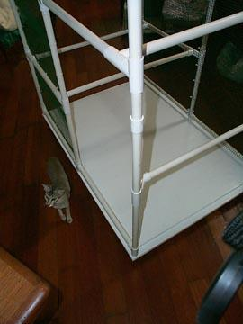 construction of pvc cage